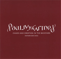 Chaos and Creation in the Backyard / Paul McCartney